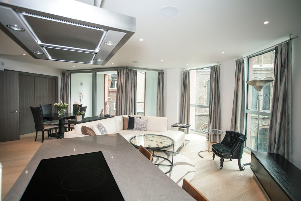 Living Areas Modern living room by trulli Design Modern