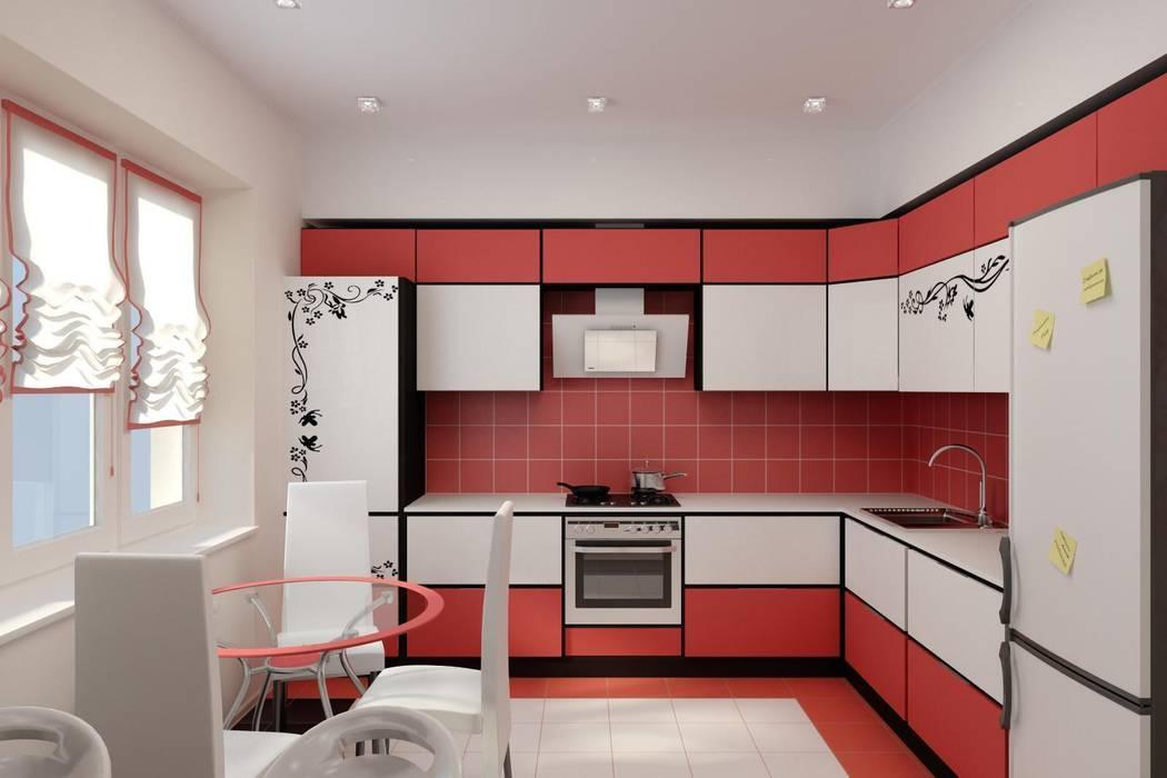 Дизайн проект частного дома в стиле авангард.: Кухни в . Автор – Цунёв_Дизайн. Студия интерьерных решений.