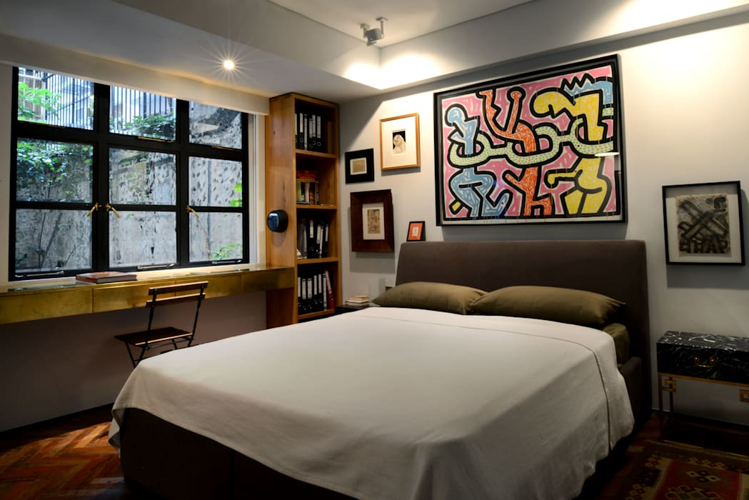 Asian style bedroom by Stefano Tordiglione Design Ltd Asian