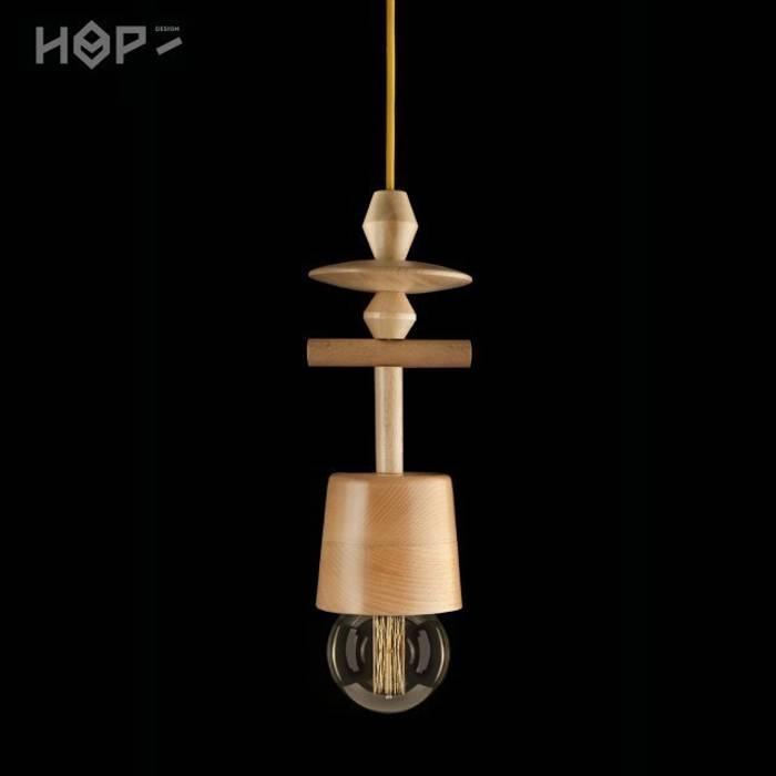 Lampa TOTEM 6: styl , w kategorii  zaprojektowany przez HOP Design,Skandynawski