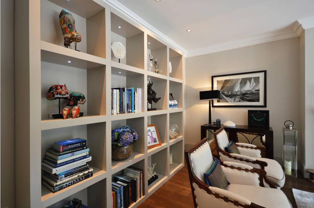 Lit shelving unit : modern  by Zodiac Design , Modern