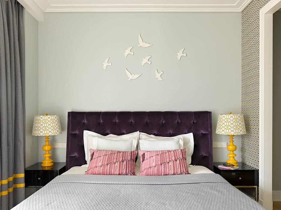 Dormitorios de estilo ecléctico de Бюро TS Design Ecléctico