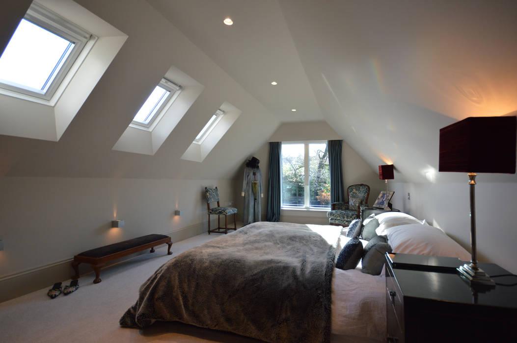The master bedroom Moderne Schlafzimmer von Zodiac Design Modern