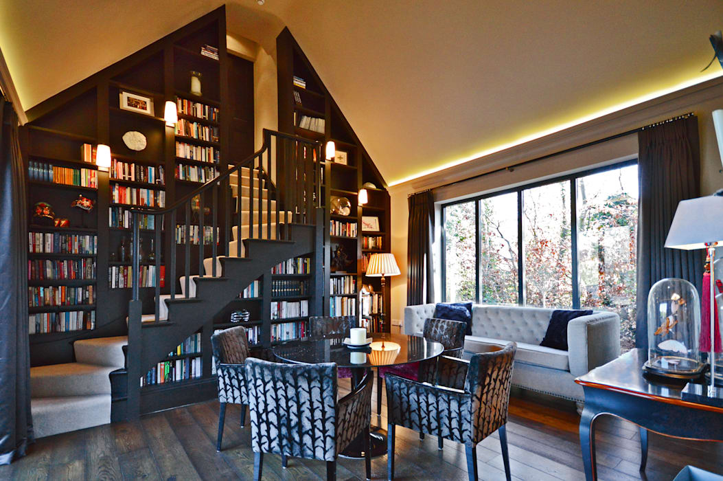 The Harry Potter staircase Modern study/office by Zodiac Design Modern