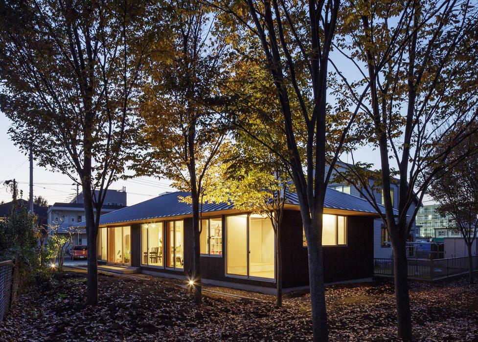 たっぷり採光できる窓 モダンな 家 の m・style 一級建築士事務所 モダン 木 木目調