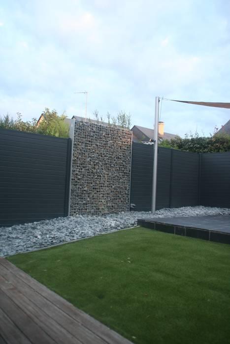 Zoom gabions: Jardin de style de style Moderne par EURL OLIVIER DUBOIS