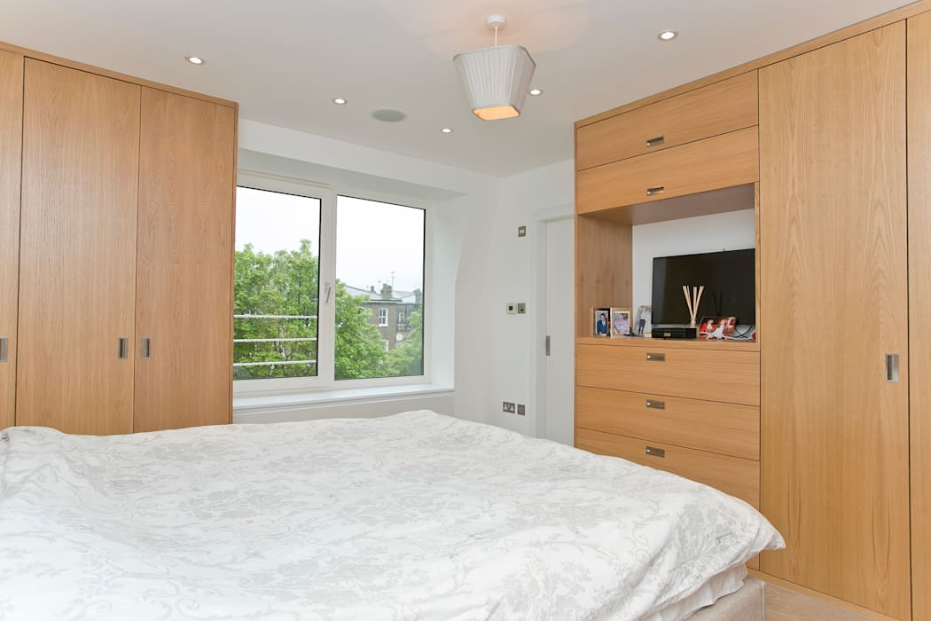Bedroom Temza design and build Modern style bedroom