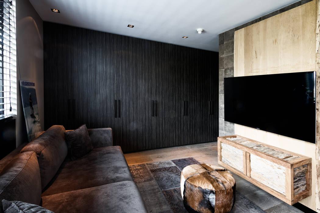 Modern Media Room by BB Interior Modern