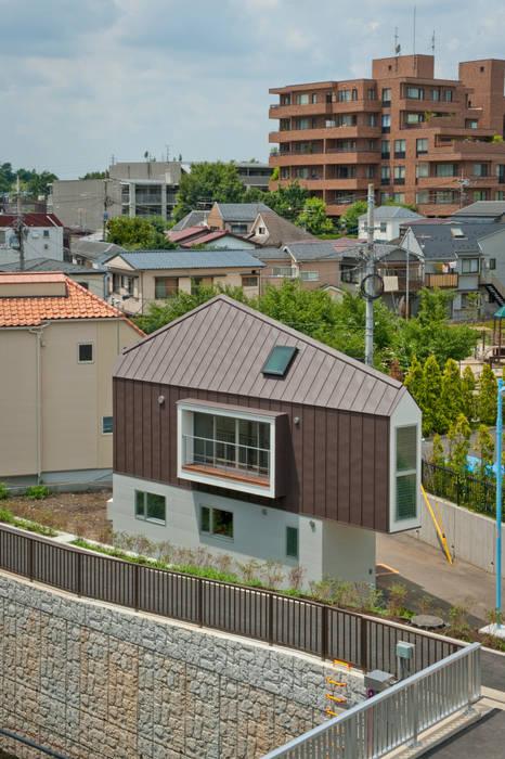 Häuser von 水石浩太建築設計室/ MIZUISHI Architect Atelier, Modern