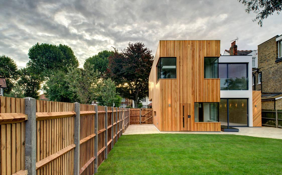 Rear Casas modernas de MZO TARR Architects Moderno