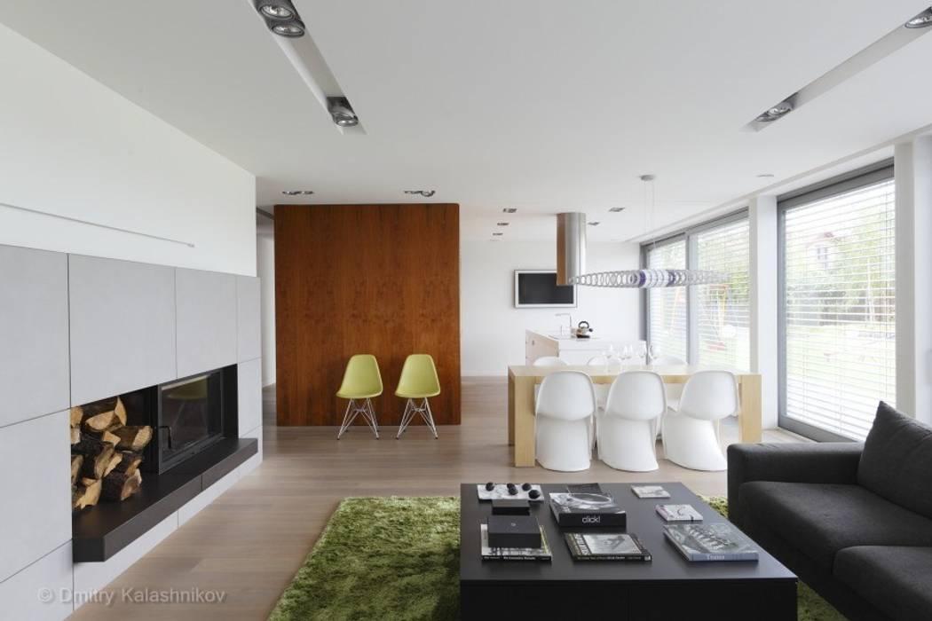 Salas de estilo moderno de PL.architekci Moderno