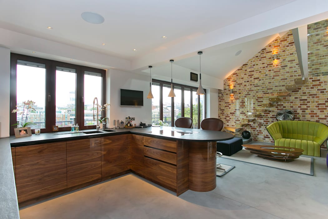 Kitchen Temza design and build Cucina moderna