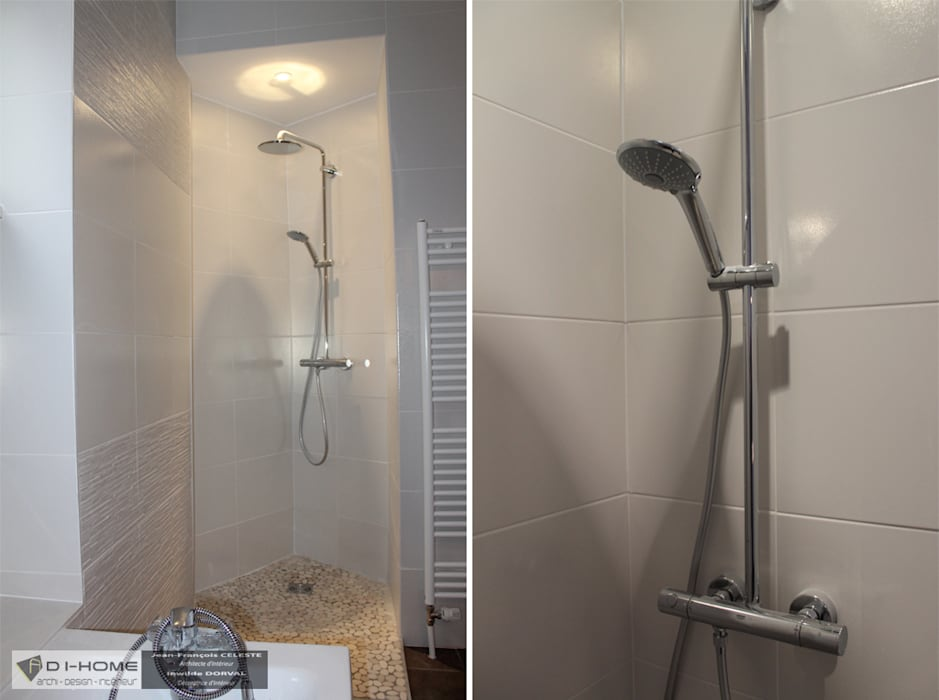 salle de bain : Salle de bains de style  par Agence ADI-HOME