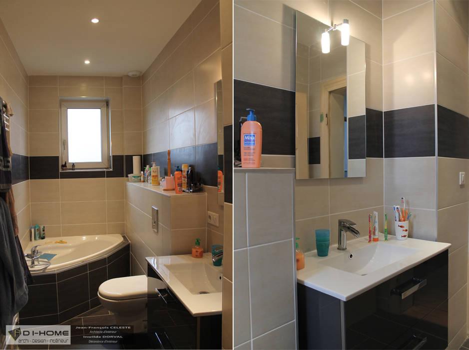 Baños de estilo moderno de Agence ADI-HOME Moderno
