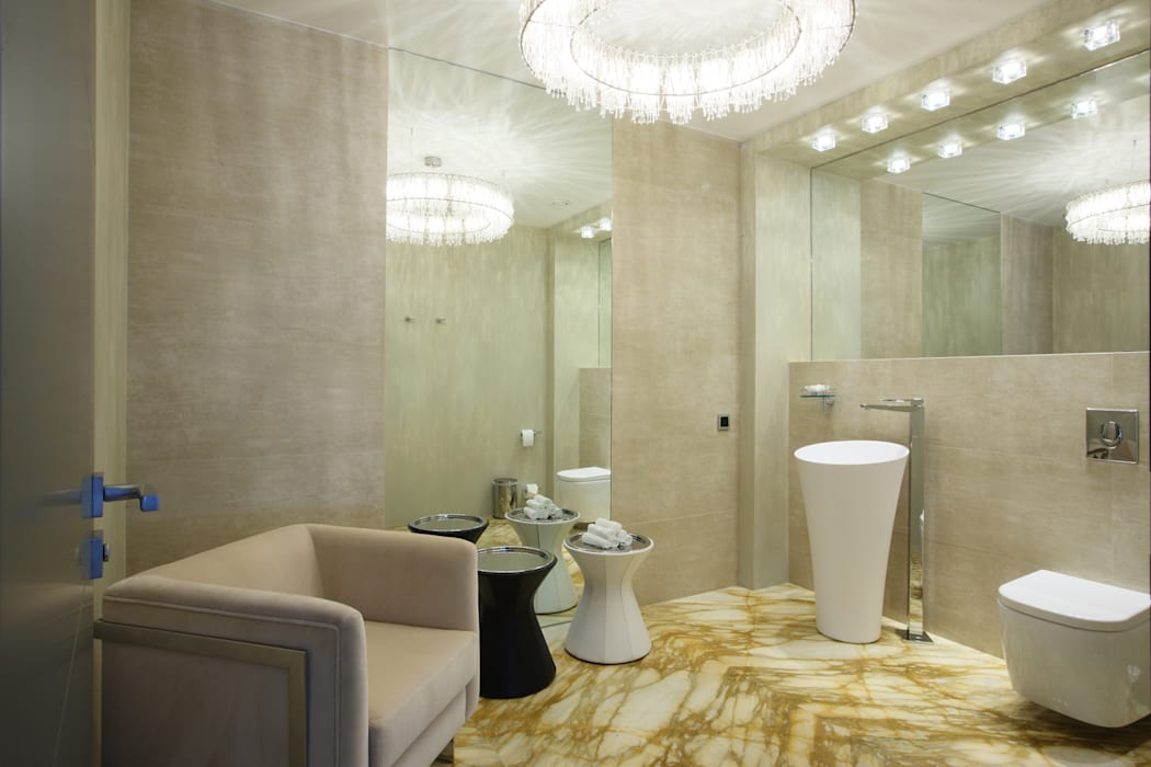 Eclectic style bathroom by Henry Bloom Eclectic