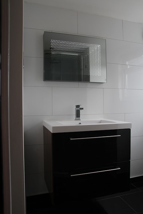 House in Tooting Bolans Architects BathroomSinks