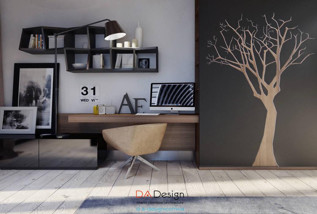 Гостиная в . Автор – DA-Design, Минимализм