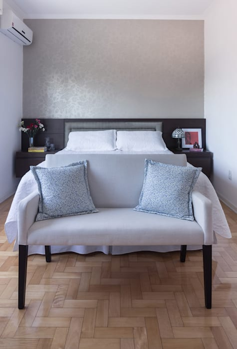 Dormitório Quartos ecléticos por Blacher Arquitetura Eclético