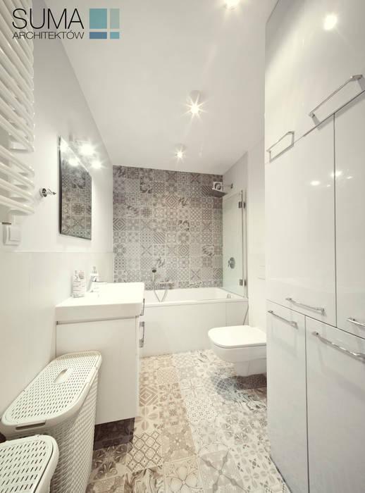 BLUE ONE Nowoczesna łazienka od SUMA Architektów Nowoczesny