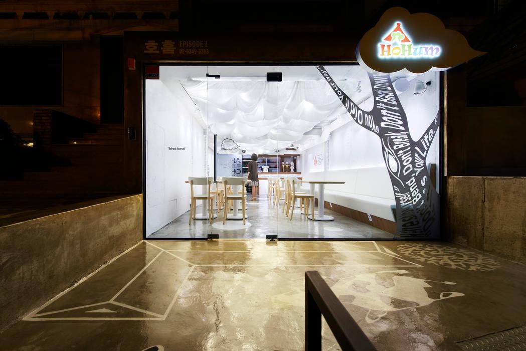 호훔 레스토랑: Design m4의  레스토랑,모던