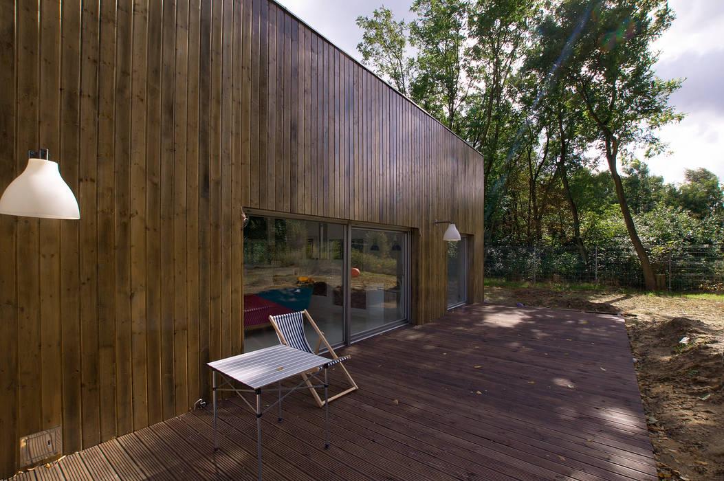 House near Poznan Maisons modernes par Neostudio Architekci Moderne