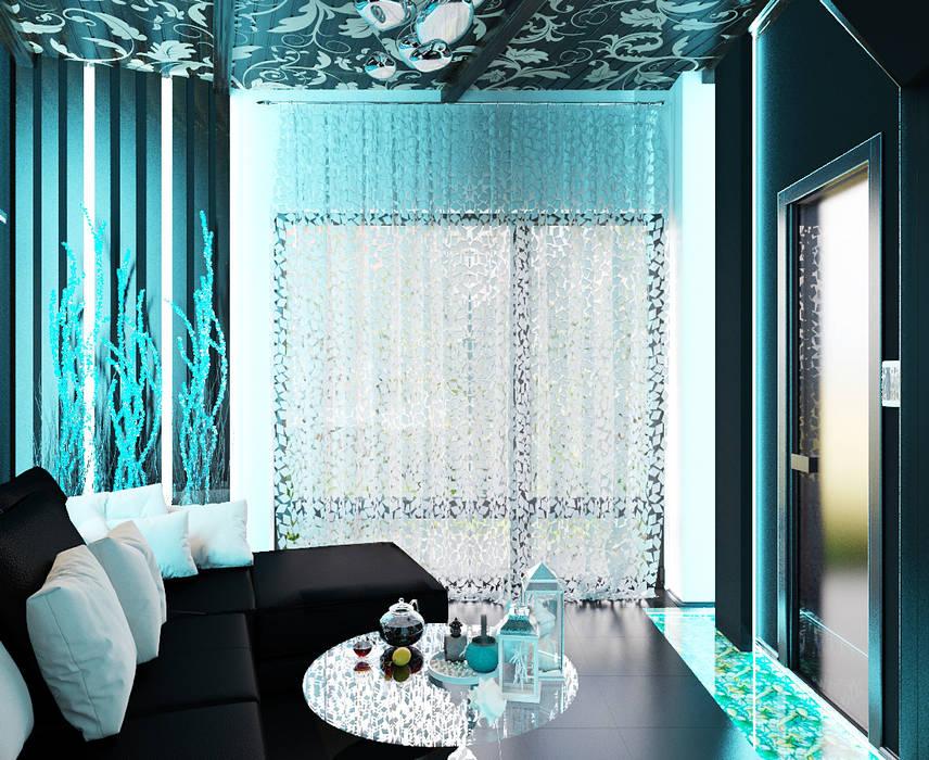Modern bathroom by Студия дизайна Interior Design IDEAS Modern