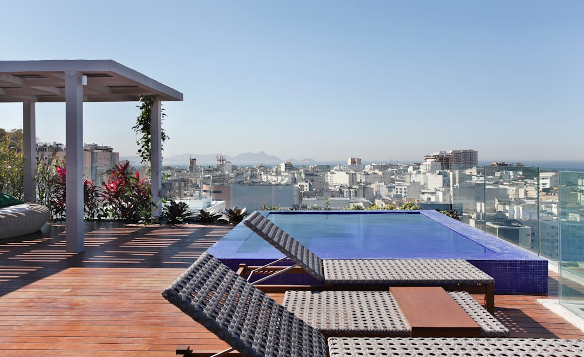 Terraço House in Rio Varandas, alpendres e terraços modernos