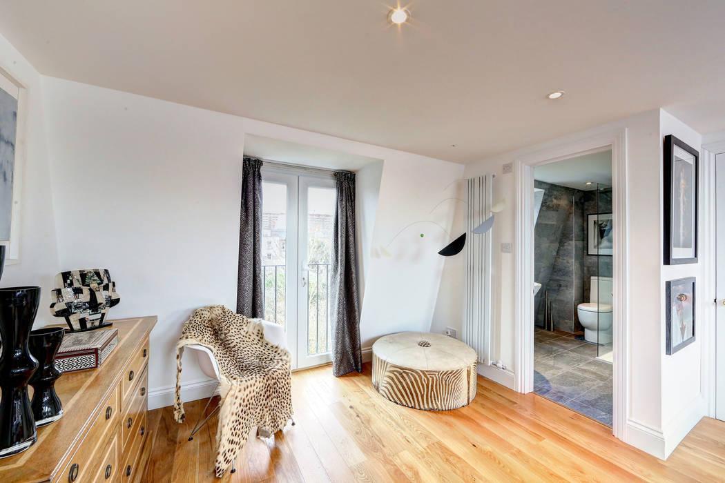 mansard loft conversion wandsworth Modern Bedroom by homify Modern