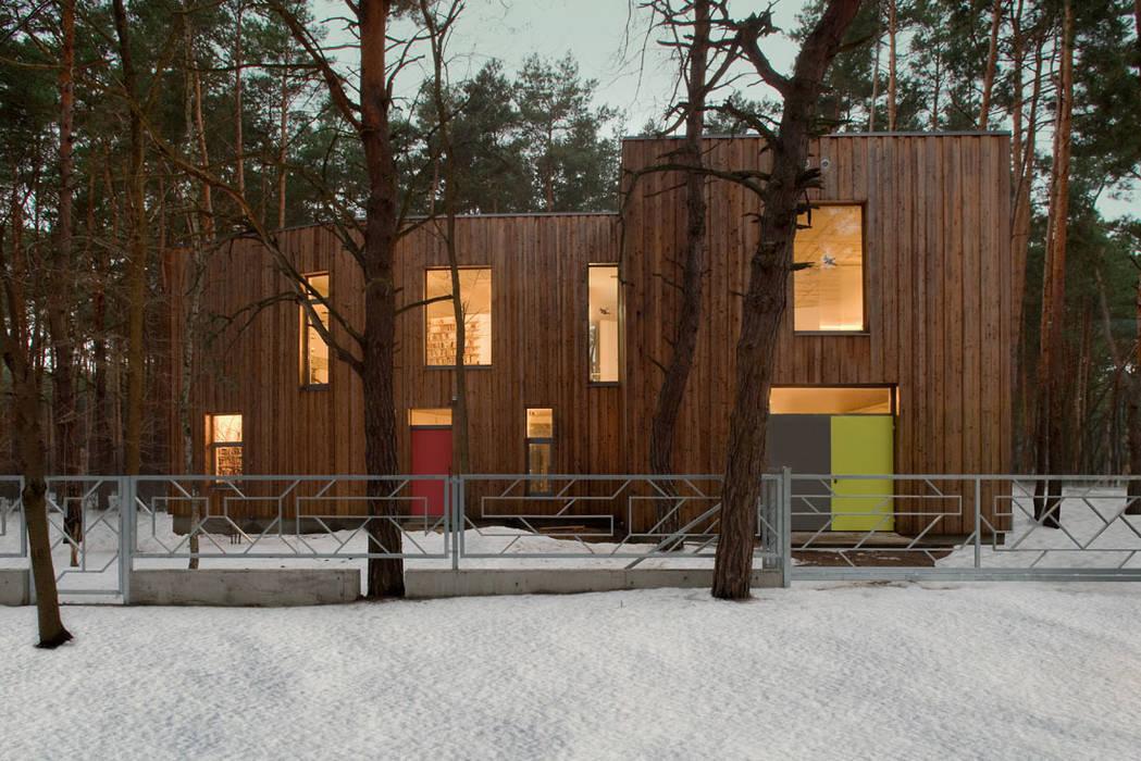 Minimalist houses by ANONIMOWI ARCHITEKCI Minimalist