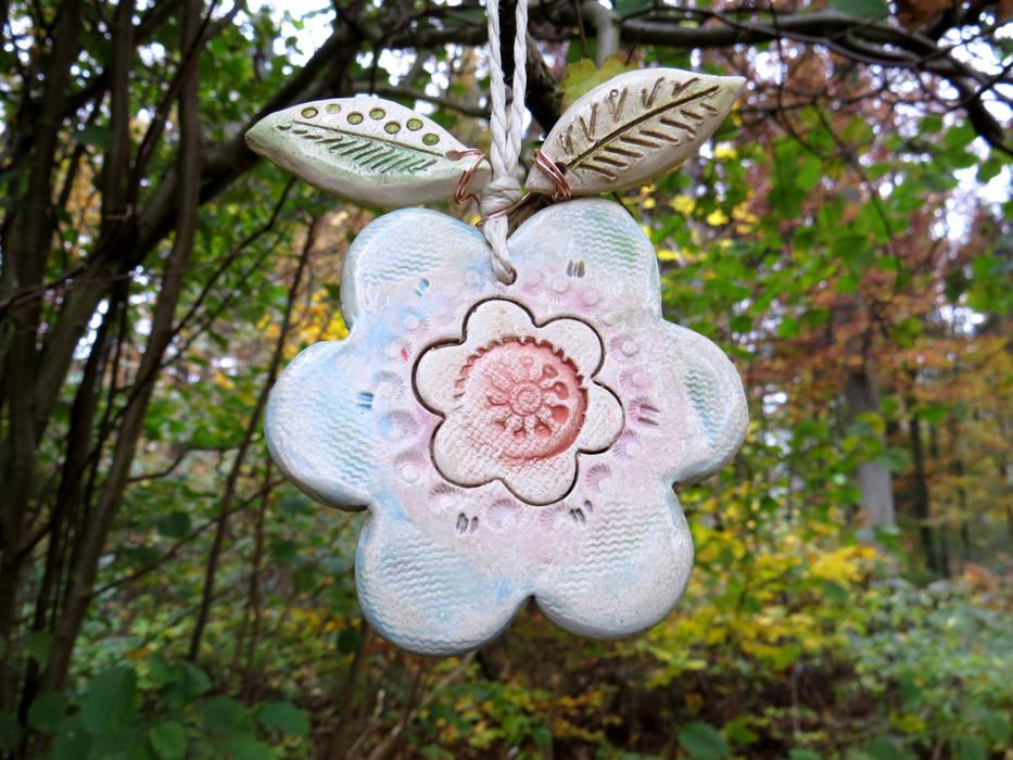 Keramik Garten Dekoration Baumschmuck Blume Garten Von Gedemuck