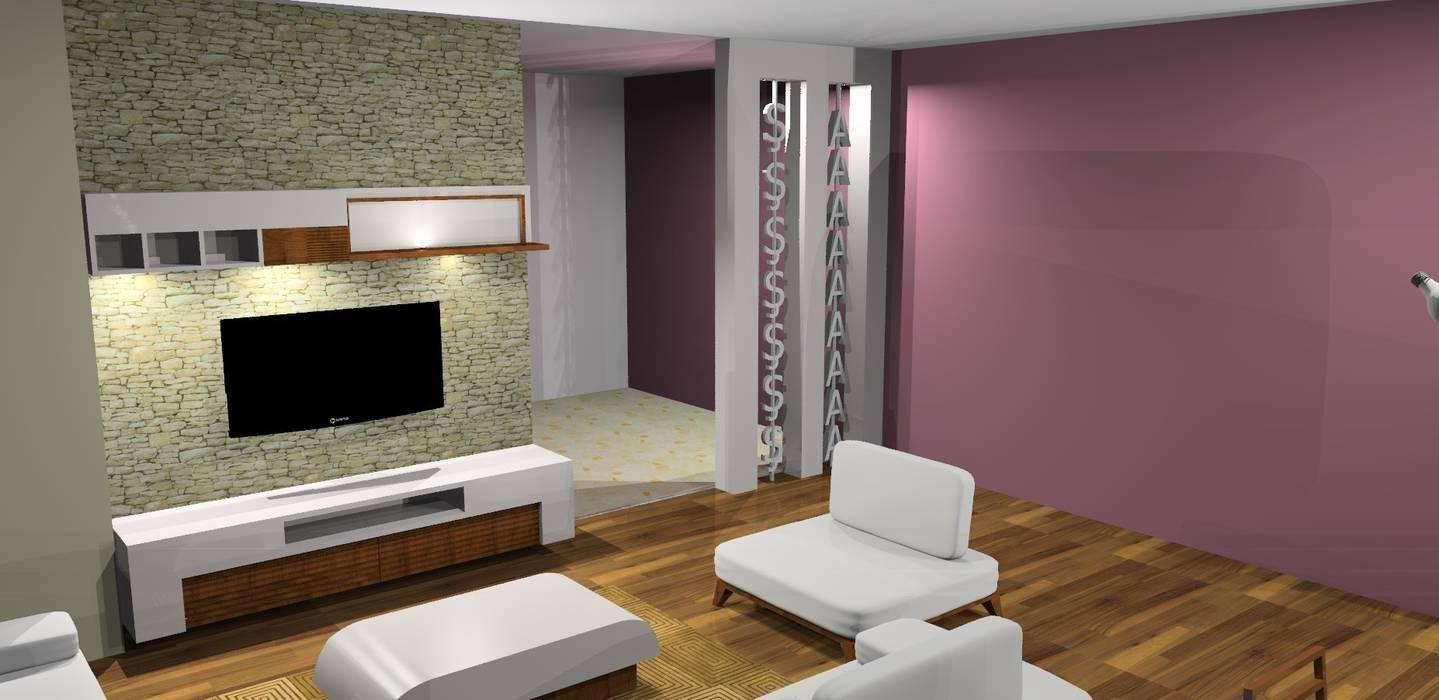 Trabcelona Design – Proje çalışması:  tarz Oturma Odası,