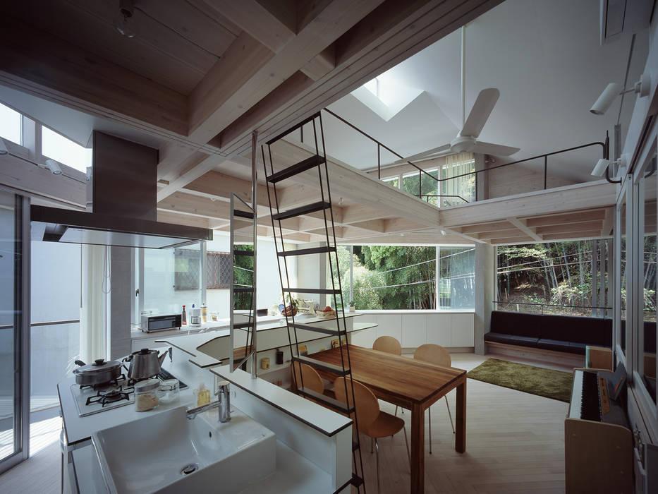 2階LDK オリジナルデザインの ダイニング の kt一級建築士事務所 オリジナル