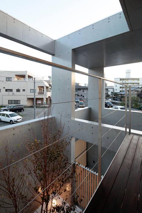 長谷雄聖建築設計事務所 Modern Garden