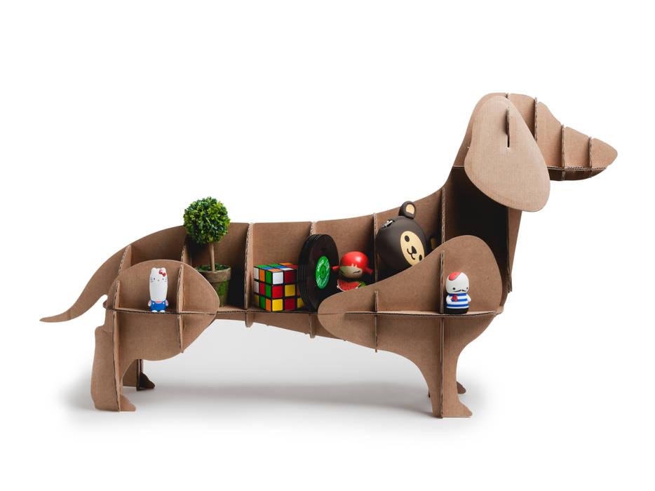 """Perro de Cartón """"Dachshund"""" de Milimetrado Moderno"""