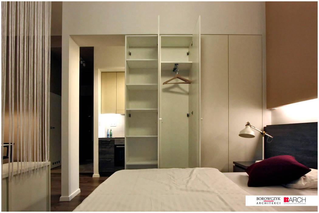 Chambre moderne par Borowczyk Architekci Moderne