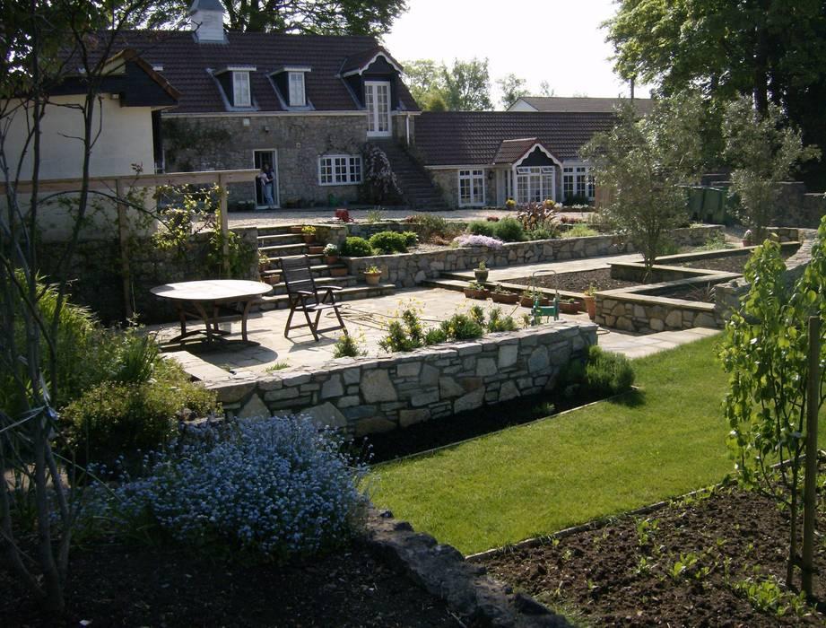 The patio by Christine Wilson Gardens