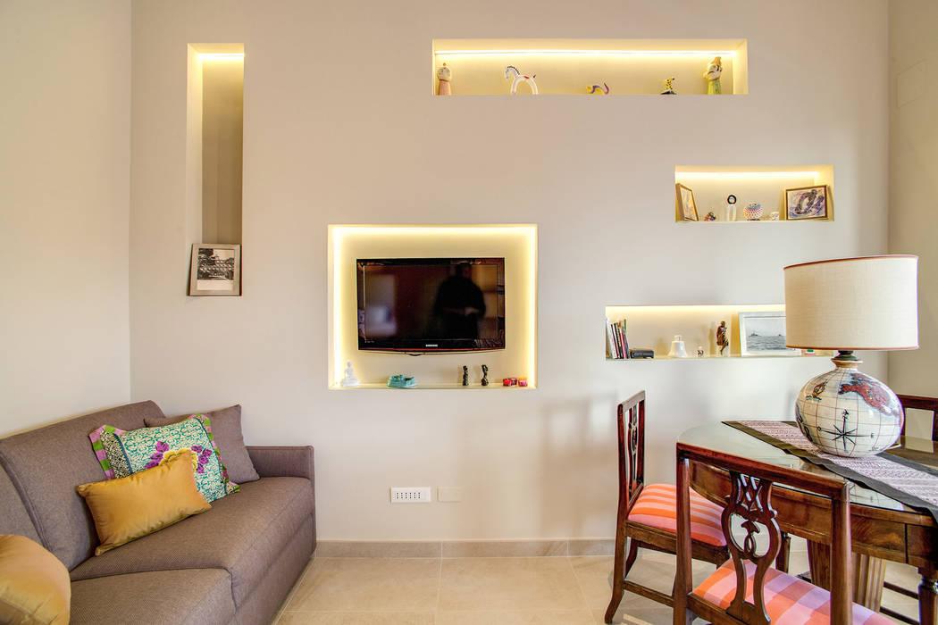Modern Oturma Odası MOB ARCHITECTS Modern