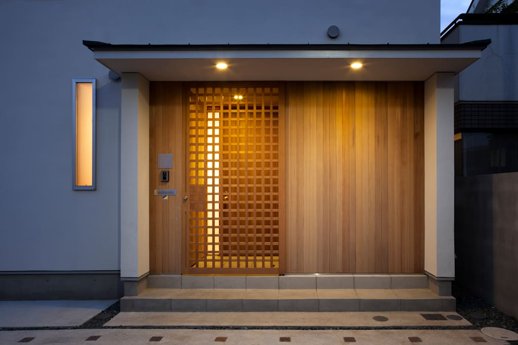 ENTRY GATE Casas modernas por FURUKAWA DESIGN OFFICE Moderno