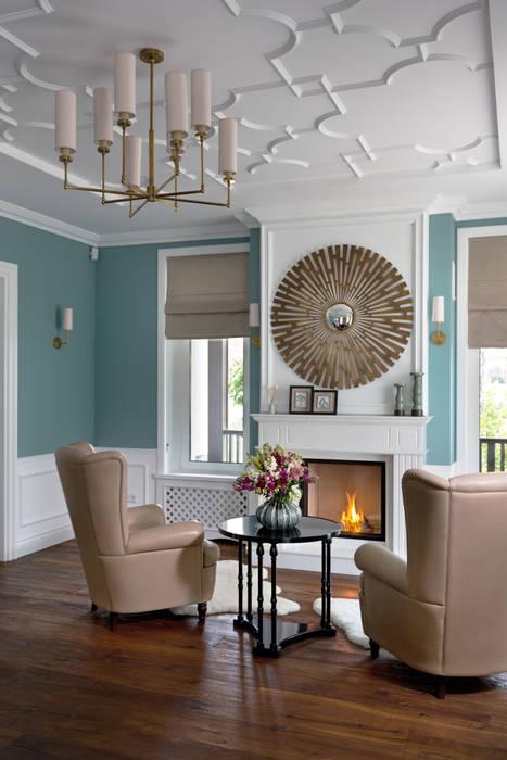Salones de estilo clásico de MARTINarchitects Clásico