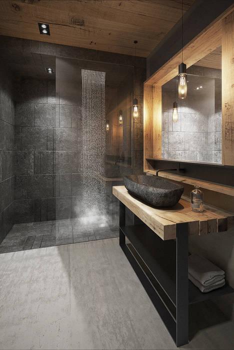 razoo-architekci Salle de bain moderne