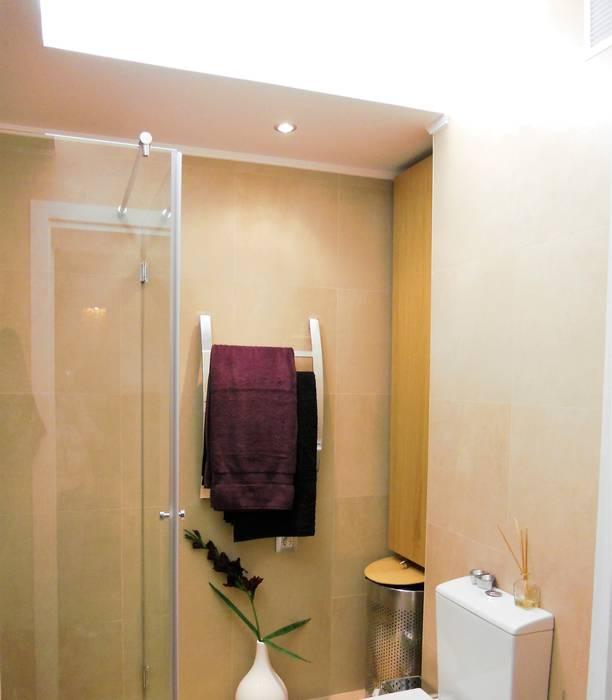 Projeto 2, Portugal Casas de banho modernas por Ana Cristina Daré Moderno