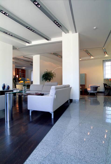Интерьер 2 Rolf Benz, Ronald Schmidt Офисы и магазины в стиле модерн от homify Модерн