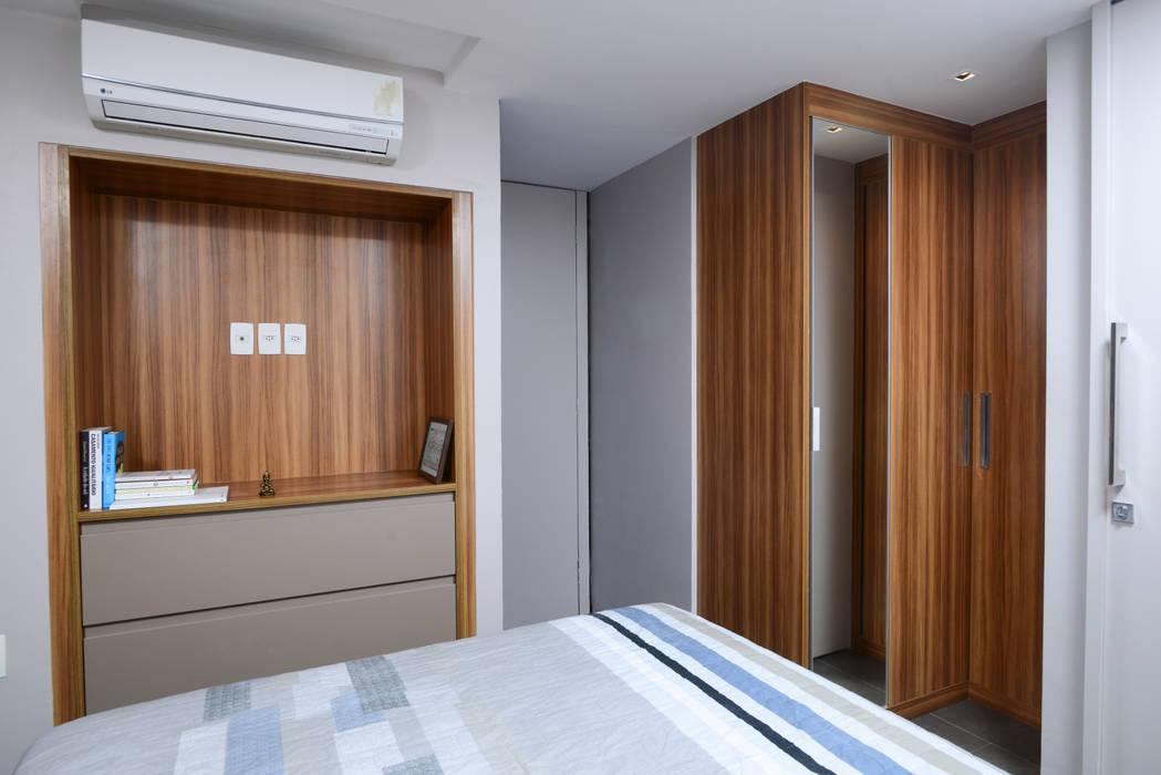 Quarto de Casal Quartos modernos por Alexandre Magno Arquiteto Moderno