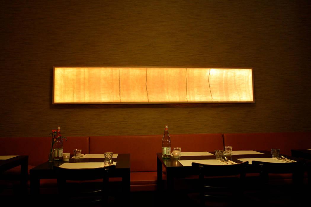 Vilten lichtpaneel 2,60 x 0,5:  Gastronomie door Vilt aan Zee, Scandinavisch
