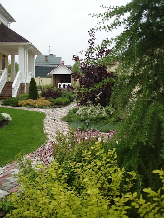 Jardines de estilo clásico de ПАН Ландшафт Clásico