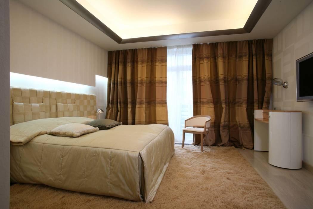 Спальня: Спальни в . Автор – Архитектурное бюро Лены Гординой