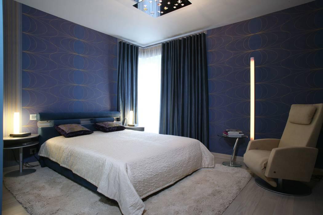 Спальня старшего сына: Спальни в . Автор – Архитектурное бюро Лены Гординой