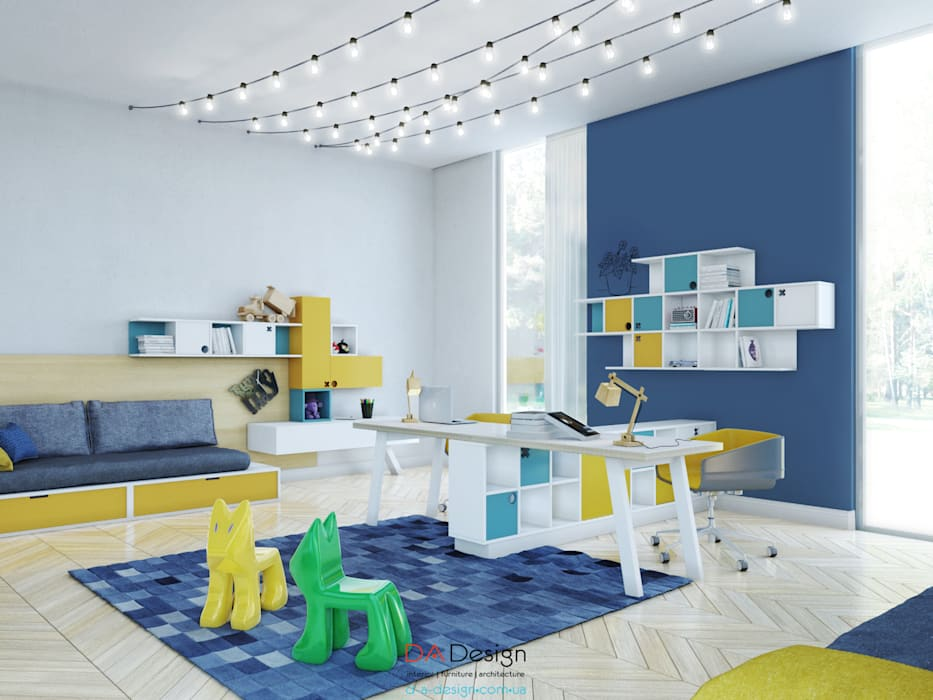Детские комнаты в . Автор – DA-Design,