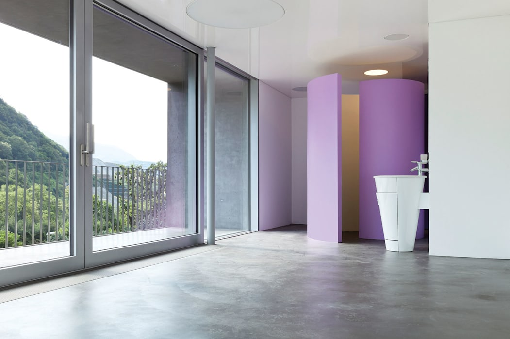 Beton ciré: schlafzimmer von beton ciré homify