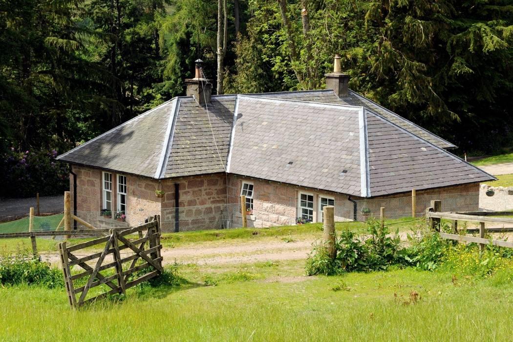 Laundry Cottage, Glen Dye, Banchory, Aberdeenshire Casas de estilo rural de Roundhouse Architecture Ltd Rural